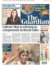 The Guardian () Newspaper Front Page for 6 April 2019