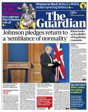 The Guardian front page for 6 April 2021