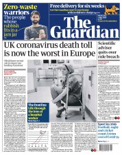 The Guardian (UK) Newspaper Front Page for 6 May 2020