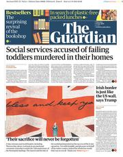 The Guardian (UK) Newspaper Front Page for 6 June 2019