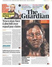 The Guardian (UK) Newspaper Front Page for 7 February 2018
