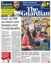The Guardian front page for 7 July 2020
