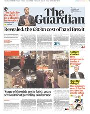 The Guardian (UK) Newspaper Front Page for 8 February 2018