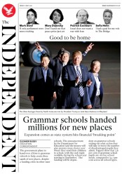 The Independent (UK) Newspaper Front Page for 11 May 2018