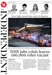 The Independent (UK) Newspaper Front Page for 19 December 2017