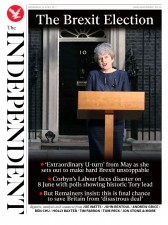 The Independent (UK) Newspaper Front Page for 19 April 2017