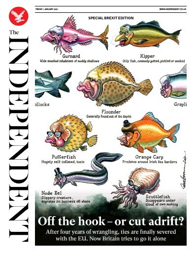 The Independent Newspaper Front Page (UK) for 1 January 2021