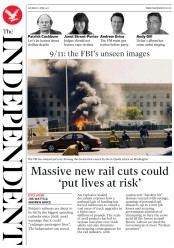 The Independent (UK) Newspaper Front Page for 1 April 2017