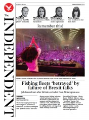 The Independent front page for 1 May 2021