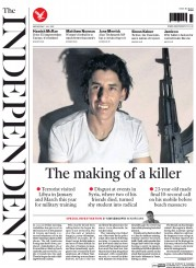 The Independent (UK) Newspaper Front Page for 1 July 2015