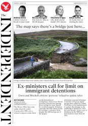 The Independent (UK) Newspaper Front Page for 1 August 2019