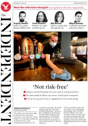 The Independent front page for 24 June 2020