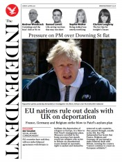The Independent front page for 25 April 2021