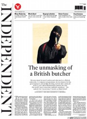The Independent (UK) Newspaper Front Page for 27 February 2015