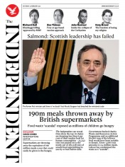 The Independent front page for 27 February 2021