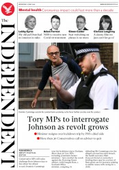 The Independent front page for 27 May 2020