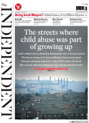 The Independent (UK) Newspaper Front Page for 27 August 2014