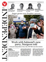 The Independent (UK) Newspaper Front Page for 28 March 2021
