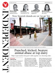 The Independent front page for 28 July 2020