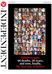 The Independent (UK) Newspaper Front Page for 29 June 2017