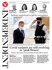 The Independent front page for 2 March 2021
