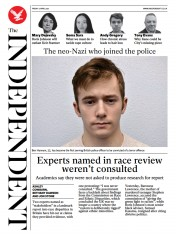 The Independent (UK) Newspaper Front Page for 2 April 2021