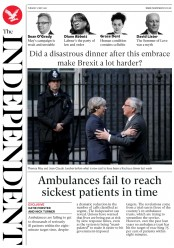 The Independent (UK) Newspaper Front Page for 2 May 2017