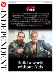 The Independent (UK) Newspaper Front Page for 3 December 2018