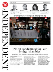 The Independent front page for 4 July 2020