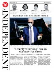 The Independent front page for 4 September 2020
