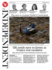 The Independent front page for 6 May 2021