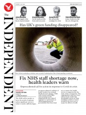 The Independent front page for 7 July 2020