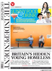 The Independent on Sunday (UK) Newspaper Front Page for 5 July 2015