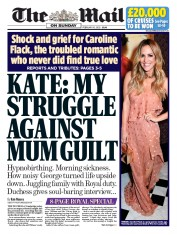 The Mail on Sunday (UK) Newspaper Front Page for 16 February 2020