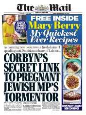 The Mail on Sunday (UK) Newspaper Front Page for 17 February 2019
