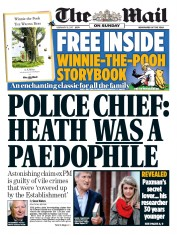 The Mail on Sunday (UK) Newspaper Front Page for 19 February 2017