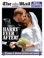 The Mail on Sunday (UK) Newspaper Front Page for 20 May 2018