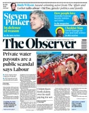 The Observer (UK) Newspaper Front Page for 11 February 2018