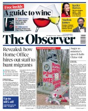 The Observer (UK) Newspaper Front Page for 17 February 2019