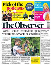 The Observer (UK) Newspaper Front Page for 3 May 2020