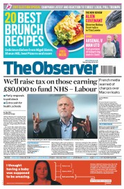 The Observer (UK) Newspaper Front Page for 7 May 2017