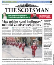 The Scotsman (UK) Newspaper Front Page for 10 December 2018