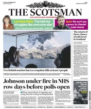 The Scotsman (UK) Newspaper Front Page for 10 December 2019