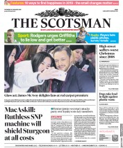The Scotsman (UK) Newspaper Front Page for 10 January 2019