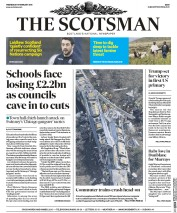 The Scotsman (UK) Newspaper Front Page for 10 February 2016