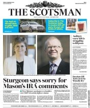 The Scotsman (UK) Newspaper Front Page for 10 February 2017