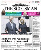 The Scotsman front page for 10 March 2021