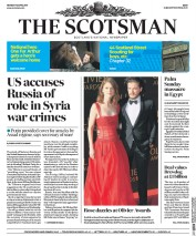 The Scotsman (UK) Newspaper Front Page for 10 April 2017