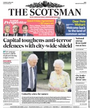 The Scotsman (UK) Newspaper Front Page for 10 April 2018