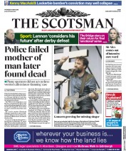 The Scotsman (UK) Newspaper Front Page for 10 May 2018